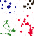 Splashes of ink vector image
