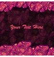 pink purple frame background vector image