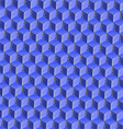 3d cubes mosaic vector image