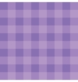 Purple checkered cloth vector image vector image