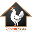 Chicken House vector image