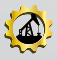 Gas and oil industry logo vector image