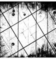 Grunge Grid Background vector image