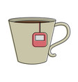 tea beverage icon image vector image