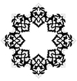 artistic ottoman pattern series sixteen vector image