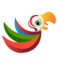 Parrot logo vector image vector image