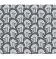 seamless pattern with medieval helmets vector image