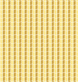 wavy gold pattern vector image