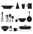 Food and Drink kitchen utensils isolated vector image