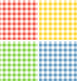 Color patterns collection vector image vector image