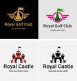 Royal Castle vector image
