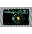 Luxury photo camera vector image vector image
