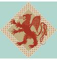medieval heraldic vector image