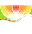 vector abstract bright background vector image vector image
