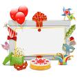 Celebration Board vector image