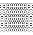 repeat triangular background seamless pattern vector image