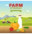 Healthy Nutrition Poster vector image