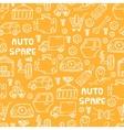 auto spare parts pattern vector image