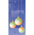 Christmas decorations2 vector image