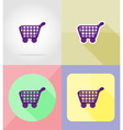 service flat icons 30 vector image