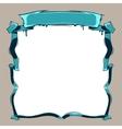 Retro Cassette Tape Frame vector image