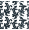 reptilian seamless pattern lizards top view vector image