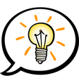 Idea clip art cartoon vector image