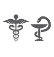 Medical symbols vector image