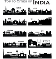 IndianCities vector image