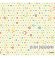 Vintage geometric pattern in retro 80s style vector image vector image