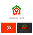 home renovation maintenance logo vector image