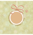 Retro Christmas ornaments EPS8 vector image