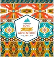 Seamless colorful decorative geometric pattern in vector image vector image