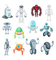 cute mechanic monsters toys for kids characters vector image