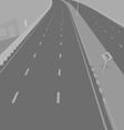 Road underpass vector image vector image