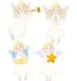 angels set vector image
