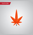 isolated alder flat icon aspen element can vector image