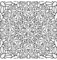 seamless background with a circular pattern vector image