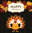 turkey with maples vector image