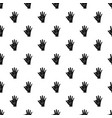 baby and mother hand pattern vector image
