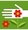 Garden maintenance vector image vector image