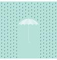 Umbrella posters vector image vector image