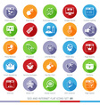 SEO icons set 01F vector image vector image