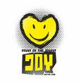 fruit of the spirit joy vector image