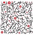 dancing people - doodles set vector image