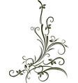 ornamental floral corner for your vector image