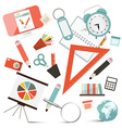 School or Business - Office Objects Set vector image vector image