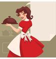 retro cooking vector image vector image