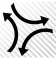 Exchange Arrows Icon vector image