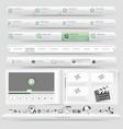 Website navigation vector image vector image